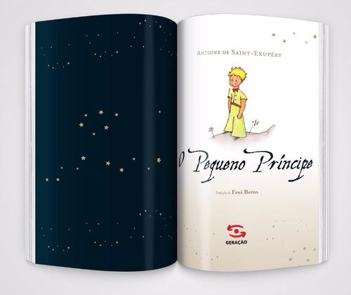 livro o pequeno príncipe edição de luxo capa dura