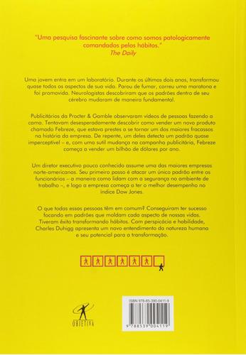 livro o poder do hábito - charles duhigg  - ed. objetiva