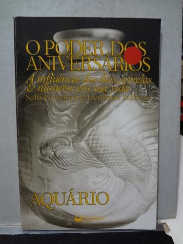 livro o poder dos aniversarios: aquário saffi crawford