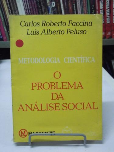 livro  o problema do análise social- carlos roberto faccina
