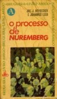 livro o processo de nuremberg joe j. heydecker