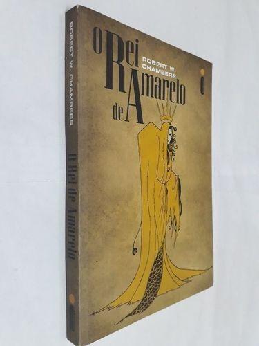 livro o rei de amarelo robert w. chambers