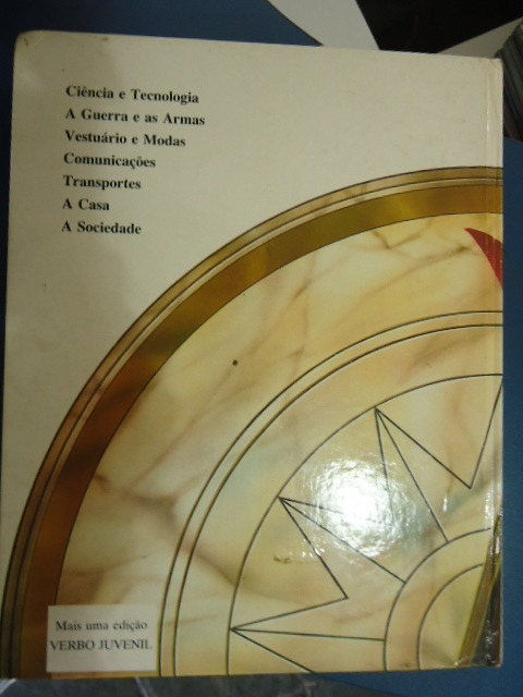 4af75a25f1b Livro O Relógio Da História Evolução Da Vida Cotidiana - R  40
