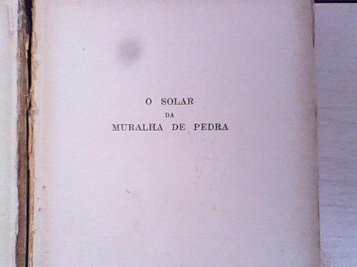livro o solar da muralha de pedra de lella warren