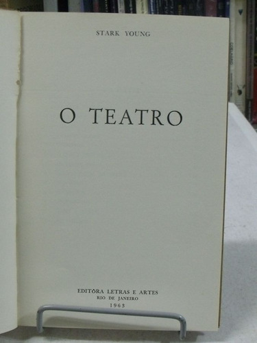 livro - o teatro - stark young