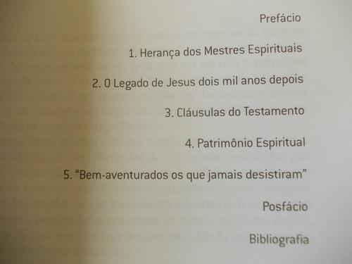 livro o testamento de jesus - jan val ellam - 2006  ed zian