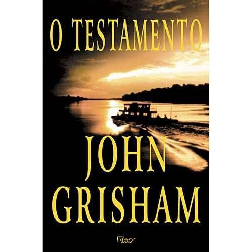 livro o testamento john grisham excelente estado