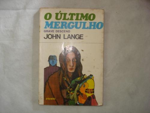 livro - o último mergulho - john lange