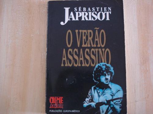livro - o verão assassino - sébastien japrisot