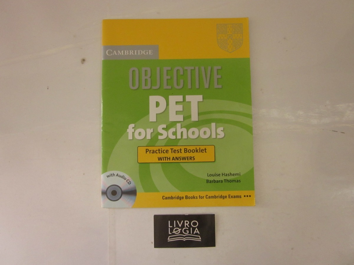 Livro Objective Pet For Schools Practice Test Booklet - R