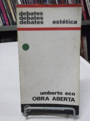 livro - obra aberta: estética - umberto eco