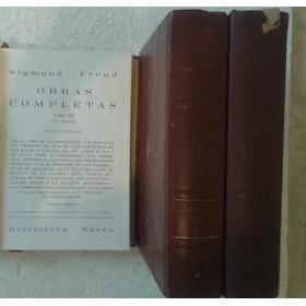 Livro Obras Completas - Sigmund Freud - 3 Volumes Em Espanho