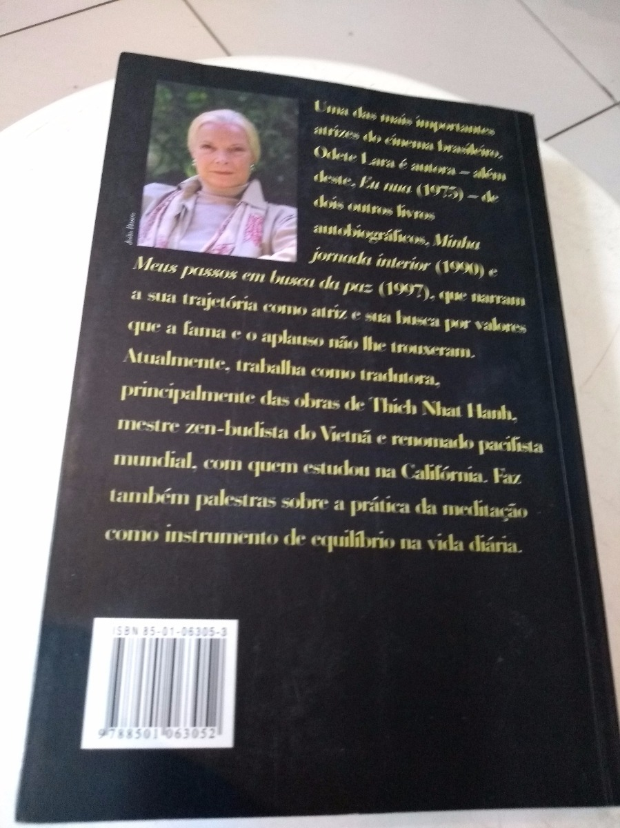 Ana Maria Nua livro odete lara - eu nua - ana maria magalhães