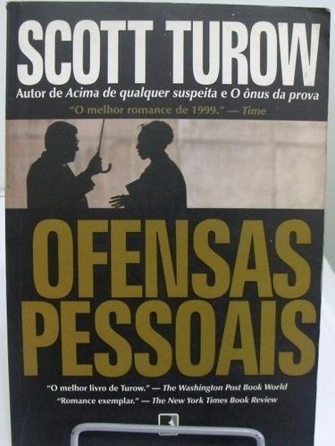 livro ofensas pessoais - scott turow