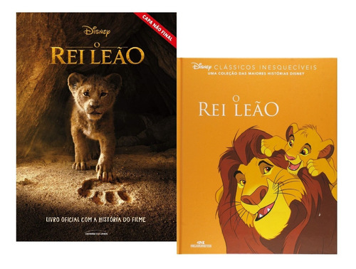 livro oficial o rei leão - a história do filme + clássico
