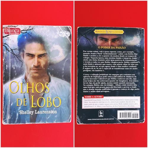 livro olhos de lobo - shelly laurenston - romance