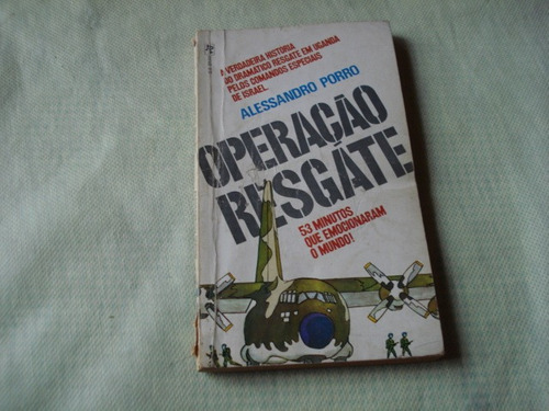 livro - operação resgate - alessandro porro