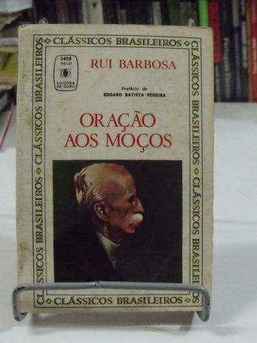 livro - oração aos moços - rui barbosa
