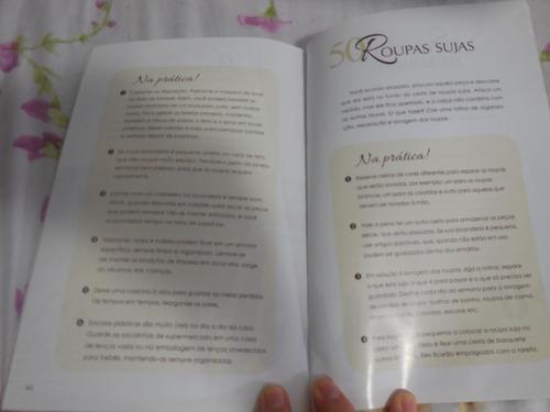 livro organize seu lar 52 maneiras de acabar com a bagunça