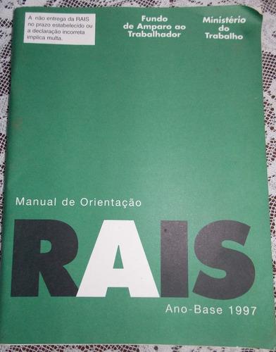 livro orientação rais 1997