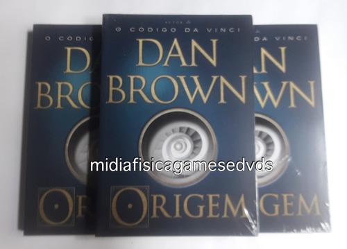 livro origem dan brown novo lacrado