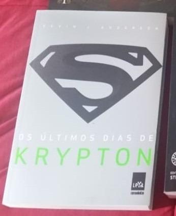 livro original os ultimos dias de krypton