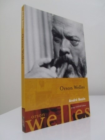livro - orson welles - andré bazin - seminovo!