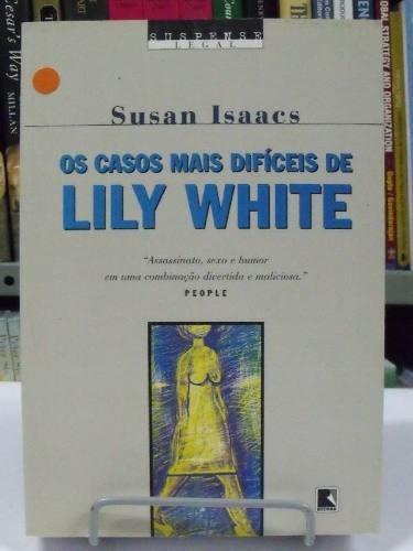 livro - os casos mais difíceis de lily white