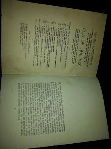 livro os maias  eça de queiroz  v.1 1945 edição comemorativa