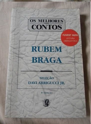 livro: os melhores contos  -rubem braga