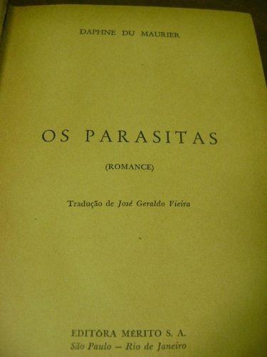 livro os parasitas - daphne du maurier - 1950