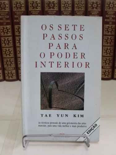 livro - os sete passos para o poder interior - tae yun kim