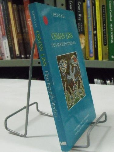 livro  osman  lins  uma  biografia literária  regina igel