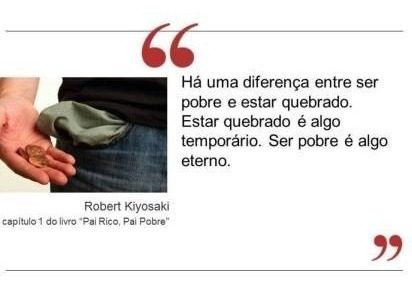 livro - pai rico, pai pobre - robert kiyosaki
