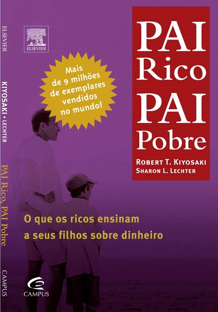 Livro Pai Rico Pai Pobre Robert T. Kiyosaki Promoção