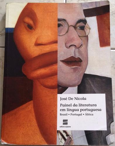 livro - painel da literatura em língua portuguesa (ano 2015)