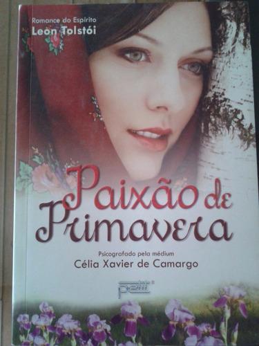 livro paixao de primavera - celia xavier de camargo