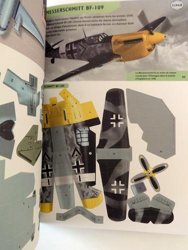 livro papercraft c/ 50 modelos aviões legendários p/ montar