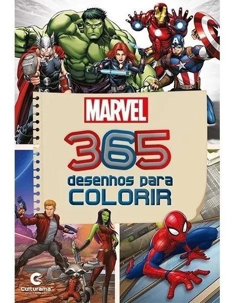 Livro Para Colorir 365 Desenhos Infantis Promocao R 21 99 Em