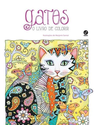 livro para colorir gatos