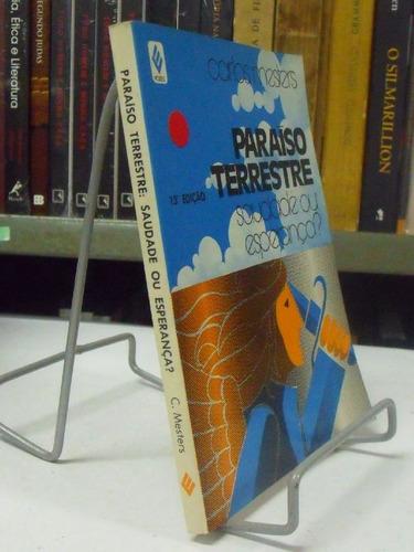 livro - paraíso terrestre - carlos mesters -