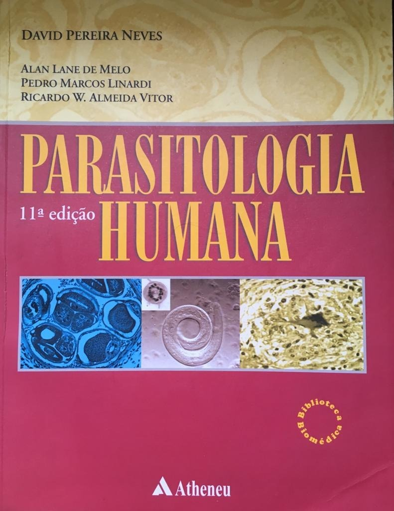 livro parasitologia neves