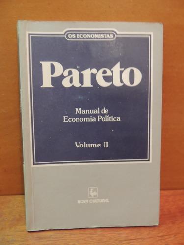 livro pareto manual de economia política volume ii