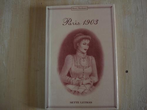livro - paris 1903 - henry bourdeax - romance