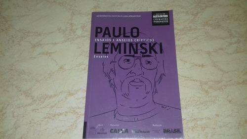livro: paulo leminski ensaios e anseios crípticos