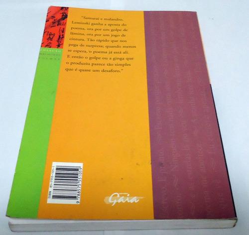livro: paulo leminski fred góes e álvaro marins