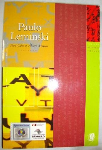 livro paulo leminski melhores poemas fred góes