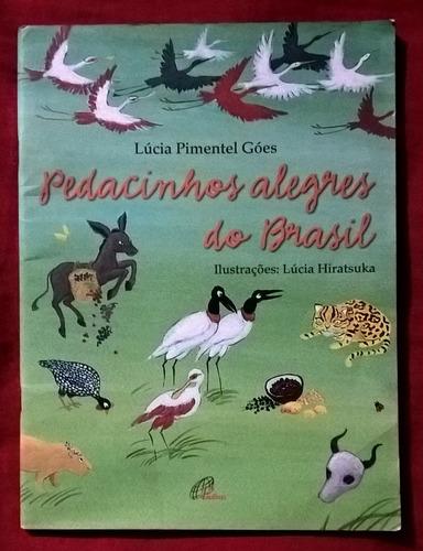 livro pedacinhos alegres do brasil