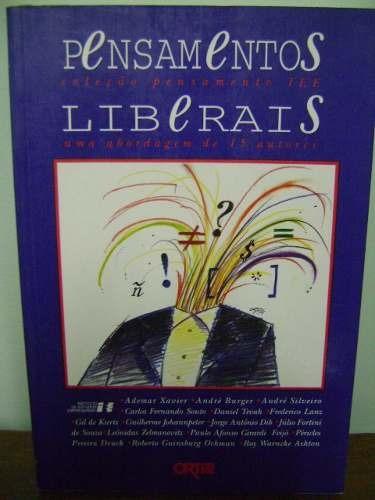 livro pensamentos liberais - ademar xavier e outros