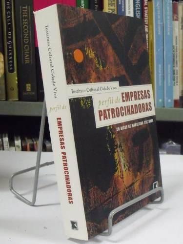 livro - perfil de empresas patrocionadoras